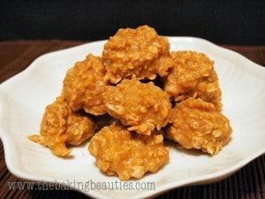 Gluten-free Peanut Butter Oatmeal Drops