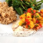 Grilled Tilapia with a Mango Salsa