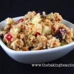 Waldorf Inspired Quinoa Salad