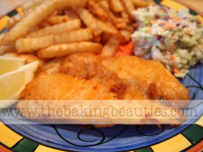 Gluten-free Beer Battered Fish by The Baking Beauties