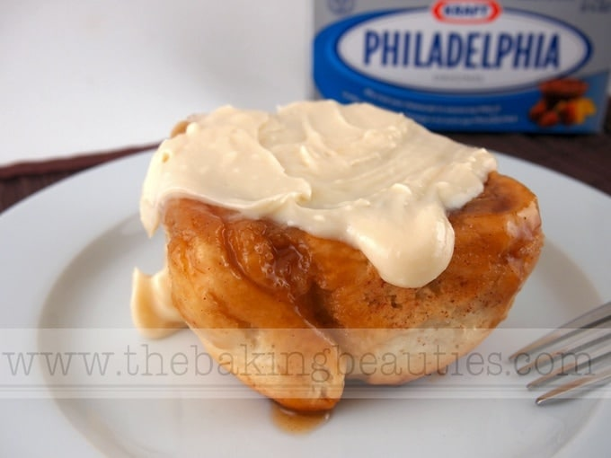 Gluten-Free Cream Cheese Cinnamon Buns - The Baking Beauties
