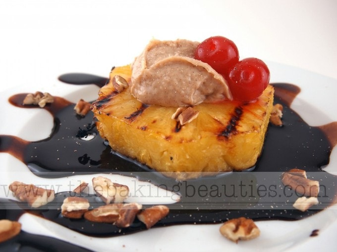 Easy & Decadent Grilled Pineapple | The Baking Beauties