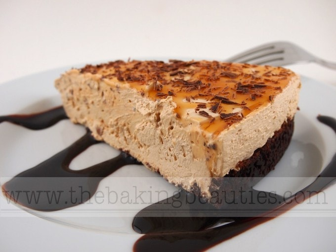Gluten-free Caramel Macchiato Cheesecake | The Baking Beauties