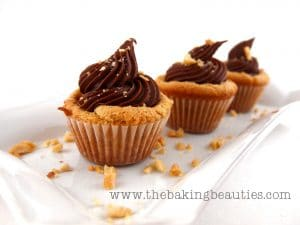 Gluten-free Peanut Butter Chocolate Truffle Cup-Cookies