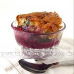 Gluten-Free Blubarb Cobbler