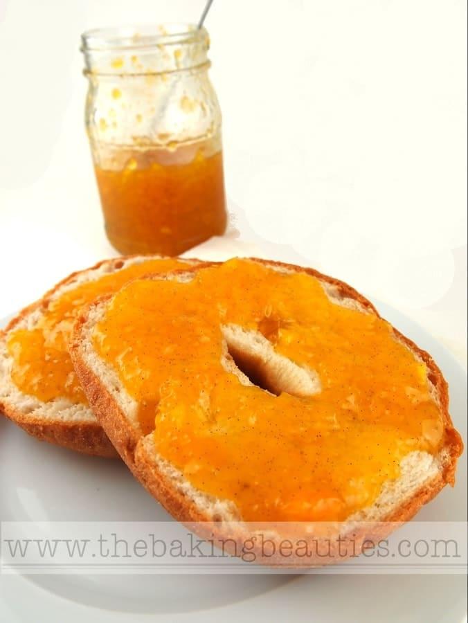 Mango, Vanilla, Lime and Cardamom Jam - The Baking Beauties