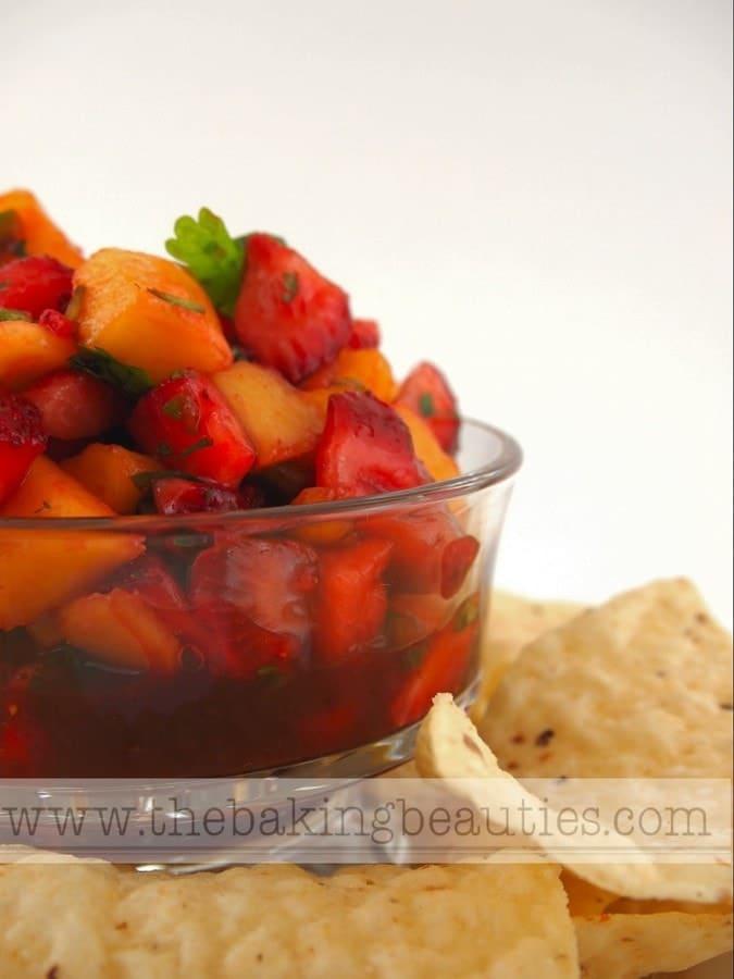 Strawberry Mango Salsa | The Baking Beauties