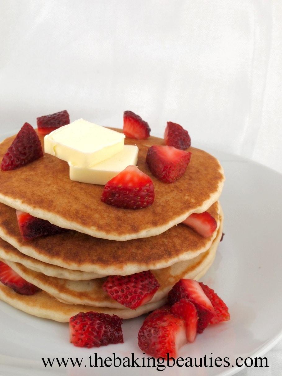 Gluten-Free Yeast Pancakes