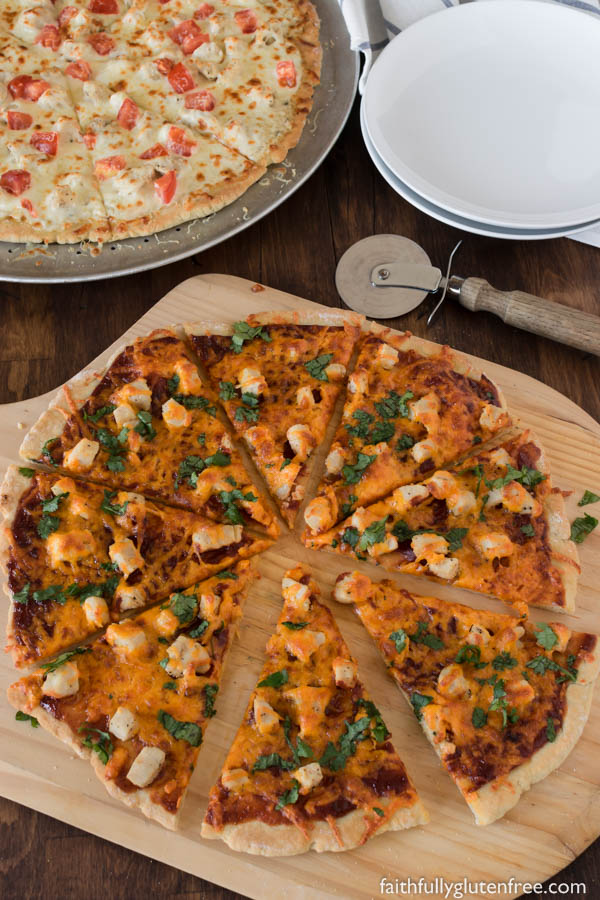 If you are looking for a thin, Crisp Gluten Free Pizza Crust that holds up to whatever toppings you throw its way, this pizza crust is for you. So good, even your gluten-eaters will love it.