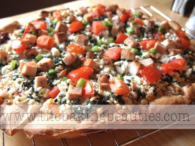 Crisp Gluten-free Pizza Crust | The Baking Beauties