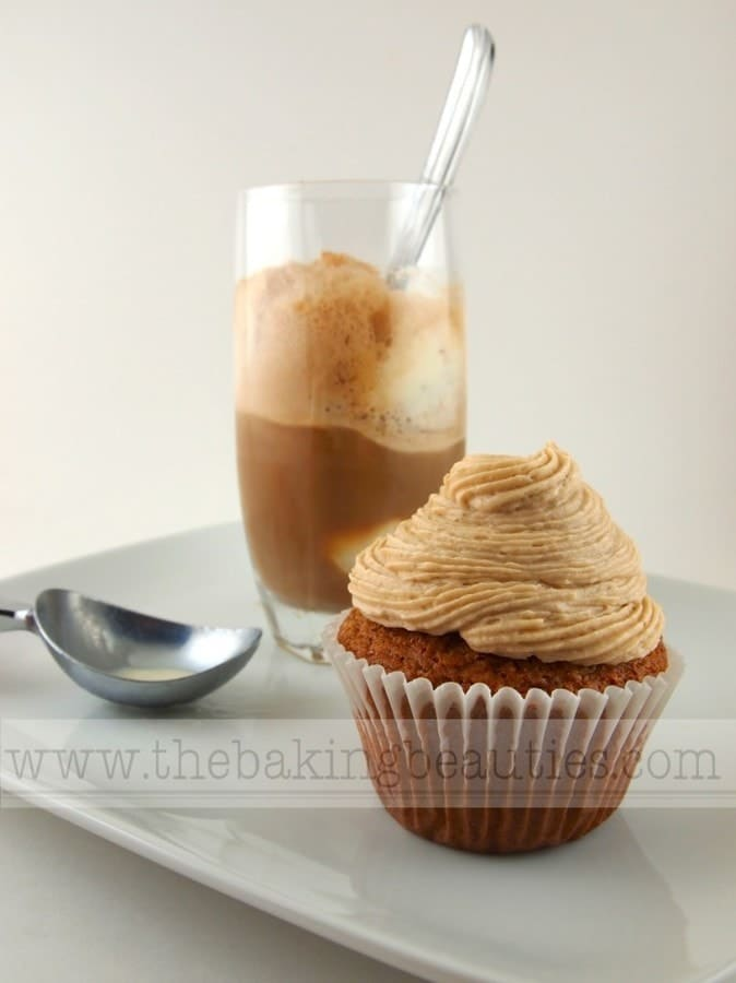 Gluten-free Rootbeer Float Cupcakes | The Baking Beauties