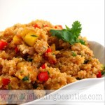 Southwest Chicken Mango Quinoa