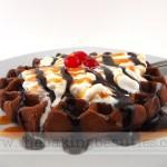 Gluten Free Mocha Waffles