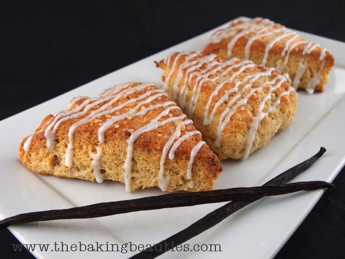 Gluten Free Vanilla Scones