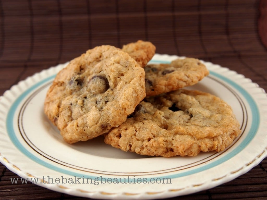 ... Gluten-Free Oatmeal Chocolate Chip Cookies - Faithfully Gluten Free