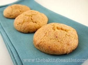 Gluten-free Pumpkin Snickerdoodles