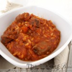 Gluten Free Beef and Beer Stew with Rice