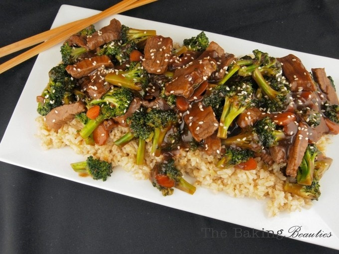 Satisfy your take-out cravings with this quick and easy Gluten Free Beef and Broccoli Stir Fry.