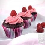 Gluten Free Chocolate Raspberry Cupcakes