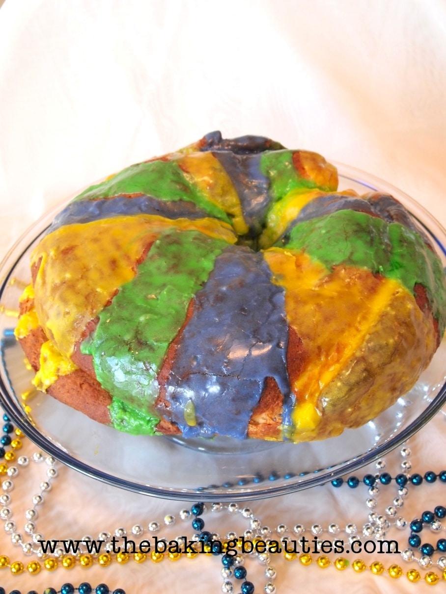 It's Mardi Gras ~ Time for Gluten-Free King Cake