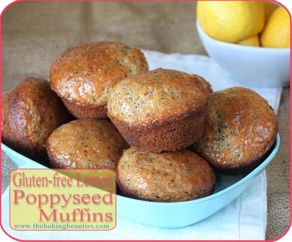 Gluten-free Lemon Poppy Seed Muffins - Faithfully Gluten Free