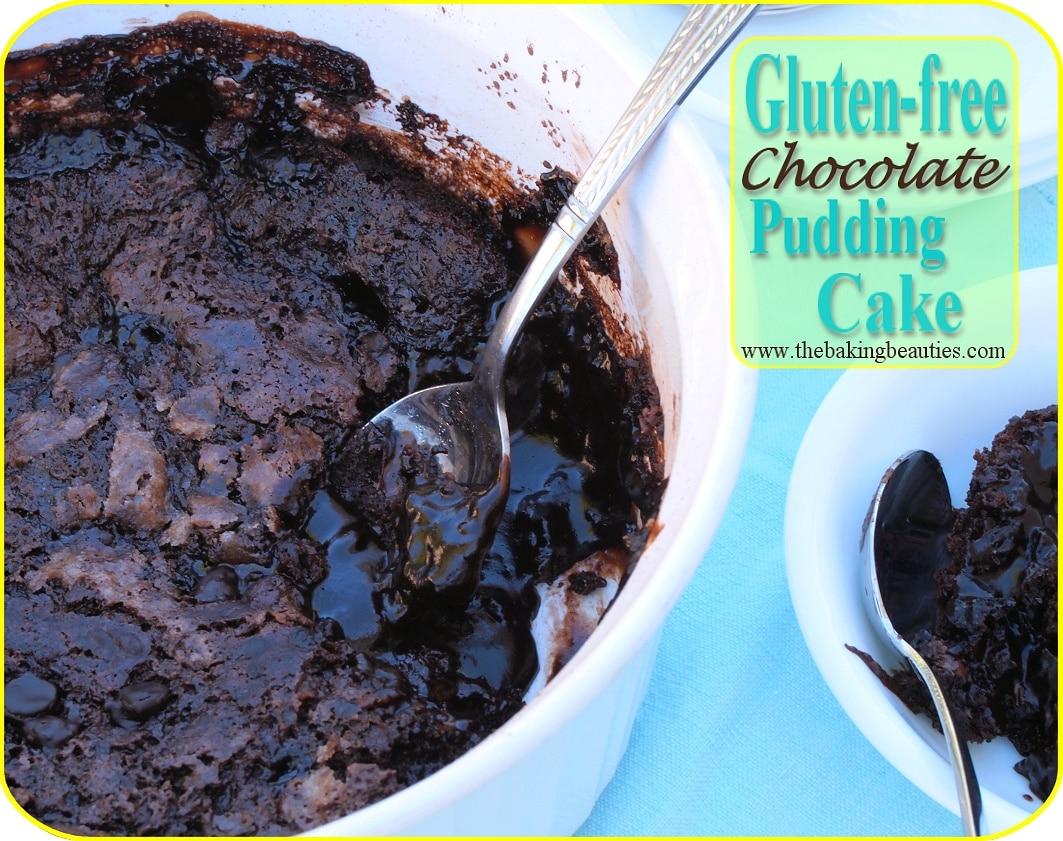 Gluten Free Chocolate Pudding Cake - Faithfully Gluten Free
