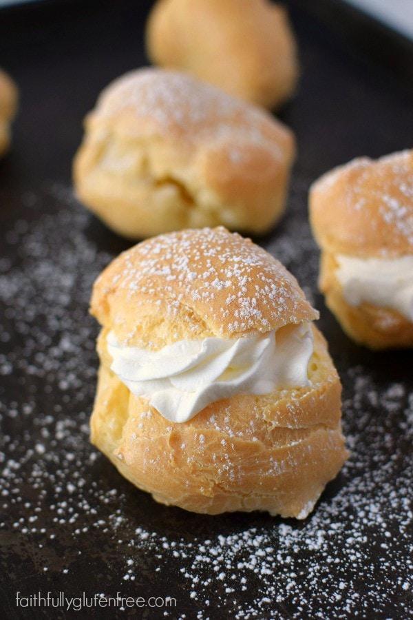 Gluten Free Cream Puffs