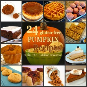 24 Gluten-free Pumpkin Recipes from The Baking Beauties