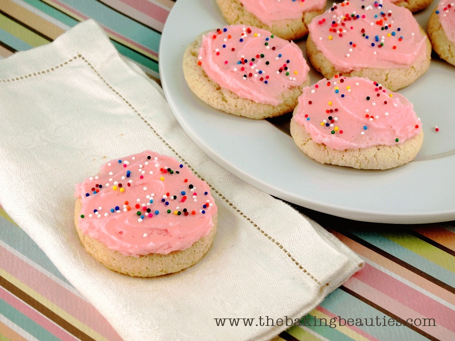 Gluten-free Sour Cream Sugar Cookies