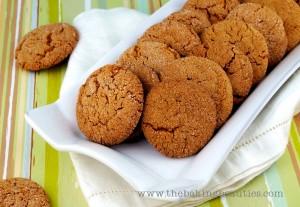 Crisp Gluten-free Gingersnap Cookies