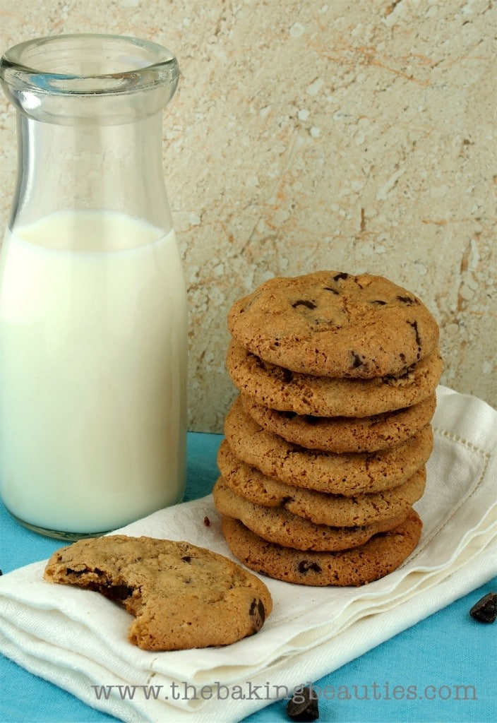 Chewy Gluten Free Oatmeal Chocolate Chip Cookies from The Baking Beauties
