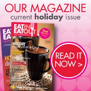 The Baking Beauties is Featured in the Holiday Issue of EatInEatOut Magazine