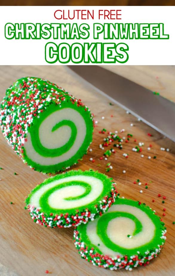Gluten Free Christmas Pinwheel Cookies recipe