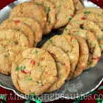 Gluten Free White Chocolate and Peppermint Cookies