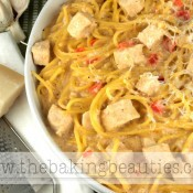 Gluten-free Kickin' Cajun Chicken Alfredo | The Baking Beauties