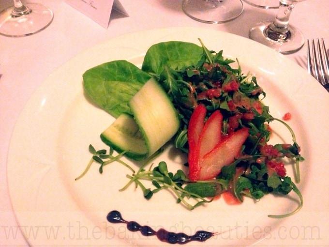 "Grey Owl Restaurant's ""Horiculture's Blend"" salad"