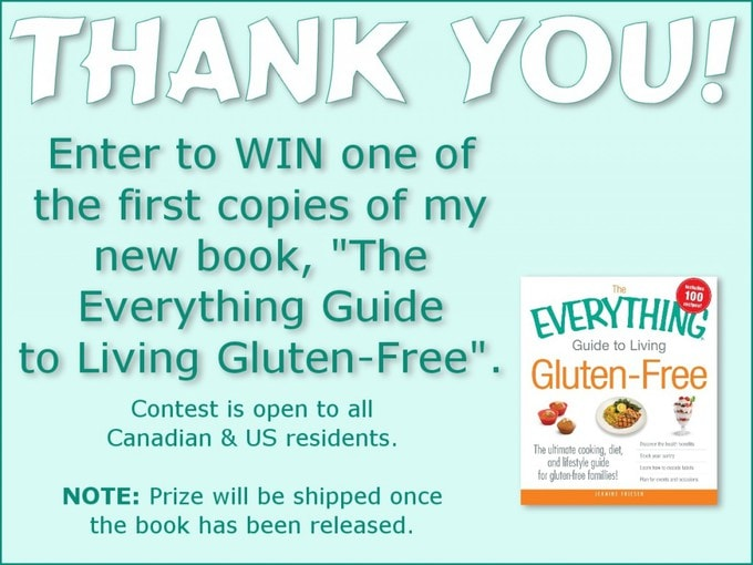 "Enter to win ""The Everything Guide to Living Gluten-Free"" by Jeanine Friesen"