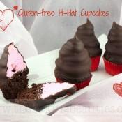 Mini Gluten-Free Hi-Hat Cupcakes | The Baking Beauties