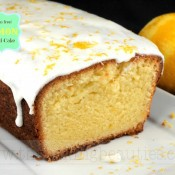 Gluten-free Lemon Pound Cake | The Baking Beauties