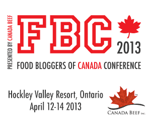 Food Bloggers of Canada 2013 Conference