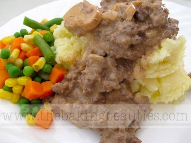 Gluten-free Beef Stroganoff with Hamburger
