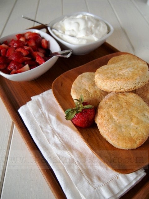 Gluten-free Classic Strawberry Shortcake | The Baking Beauties