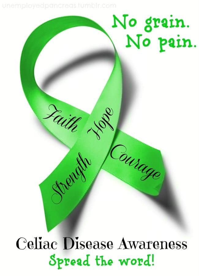 Celiac Awareness - No Grain, No Pain