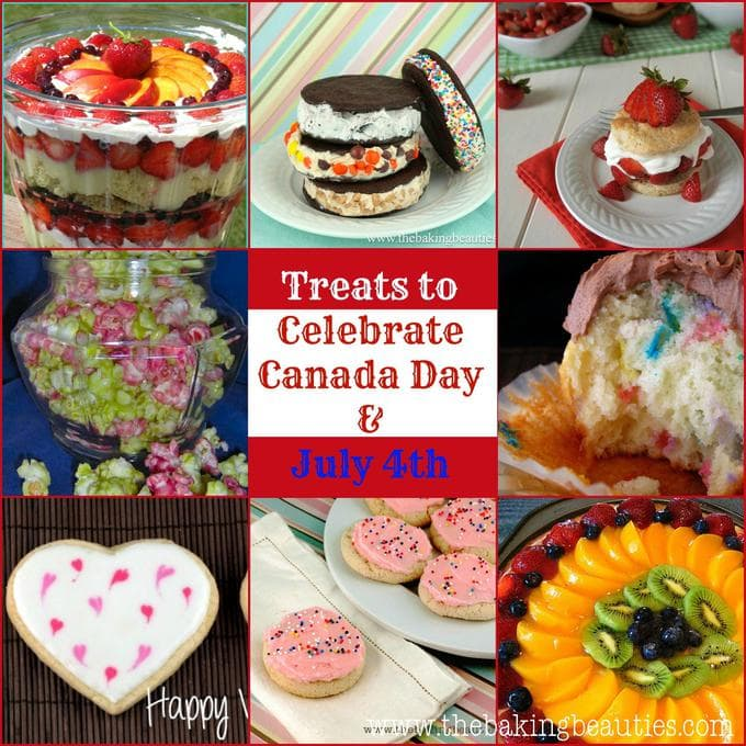 9 Gluten Free Desserts to Celebrate Canada Day and Independence Day