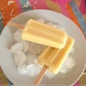 Virgin Pina Colada Ice Pops | The Baking Beauties