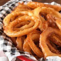 Crispy Gluten Free Onion Rings