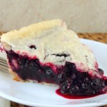 Gluten Free Saskatoon Pie {Prairie Fruit Cookbook review}