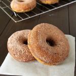 Gluten Free Baked Pumpkin Chocolate Chip Doughnuts