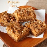 Gluten Free Gingerbread Pumpkin Bars
