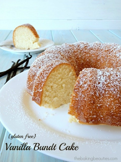 Gluten Free Vanilla Bundt Cake | The Baking Beauties